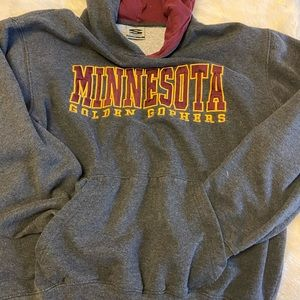 Minnesota Golden Gophers hooded sweatshirt in Lg